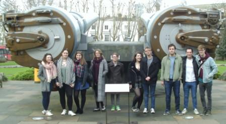 HIS2014 students at the Imperial War Museum, 15 February 2018