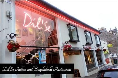 Dil'Se restaurant Dundee