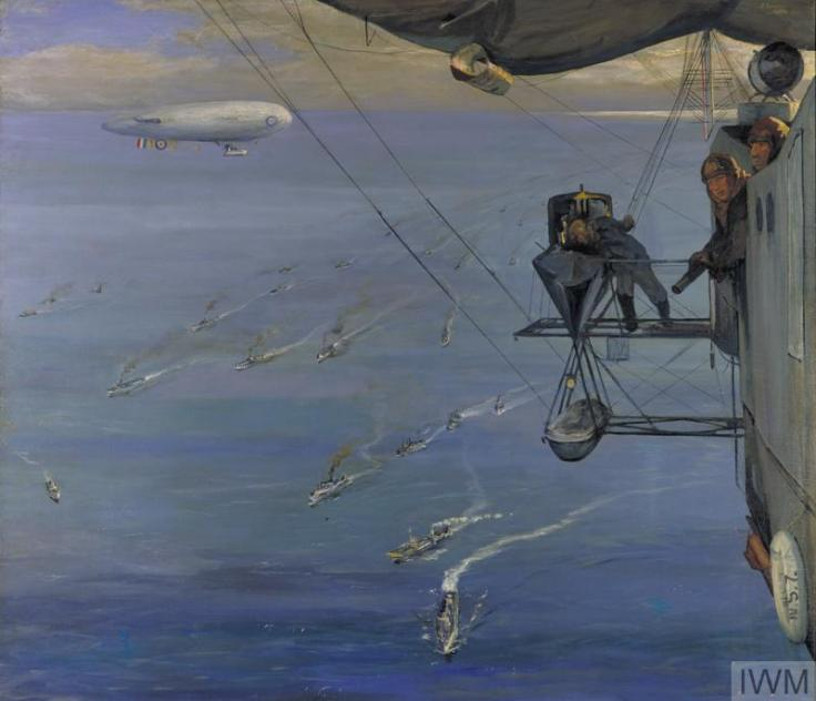 IWM ART1257 (Convoy North Sea 1918) (002)