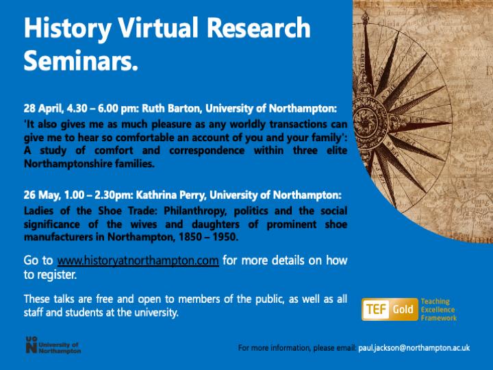 History Research Seminars ST 2021